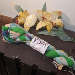 Reclaimed Chiffon Ribbon Yarn 222